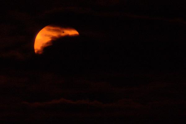 Venus passerar framfor solen
